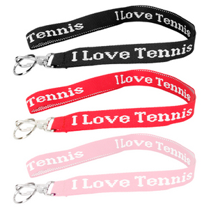 FROMUTH I LOVE TENNIS LANYARD