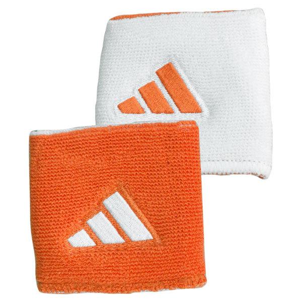 Interval Reversible Tennis Wristband Orange And White