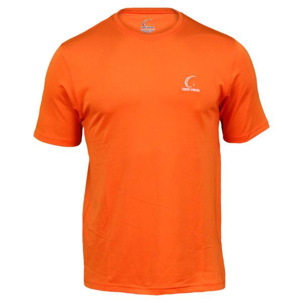 Men's Orange Tennis Tee