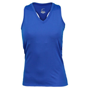 Women`s Royal Blue Resort Racerback Power Tennis Tank