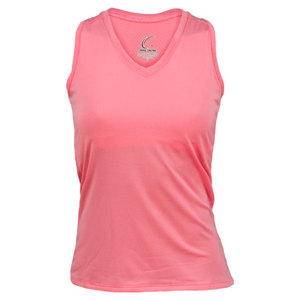 Women`s Red Resort Racerback Power Tennis Tank