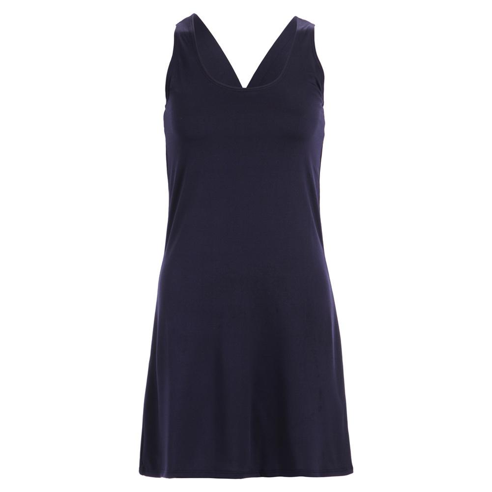 Women's Navy Racerback Tennis Dress