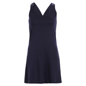 Women`s Navy Racerback Tennis Dress