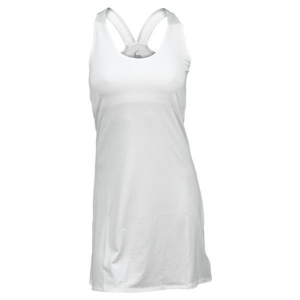 Women's White Racerback Tennis Dress