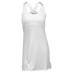 Women`s White Racerback Tennis Dress