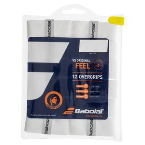BABOLAT VS GRIP ORIGINAL WHITE 12 PACK