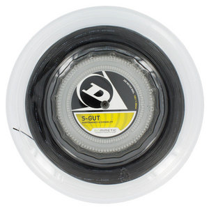 DUNLOP S-GUT 16G BLACK REEL STRING