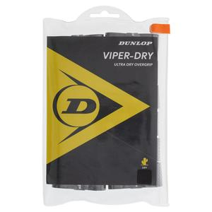 Viperdry Black 12 Pack Ultra Dry Tennis Overgrip
