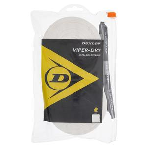 Viperdry White 30 Pack Ultra Dry Tennis Overgrip