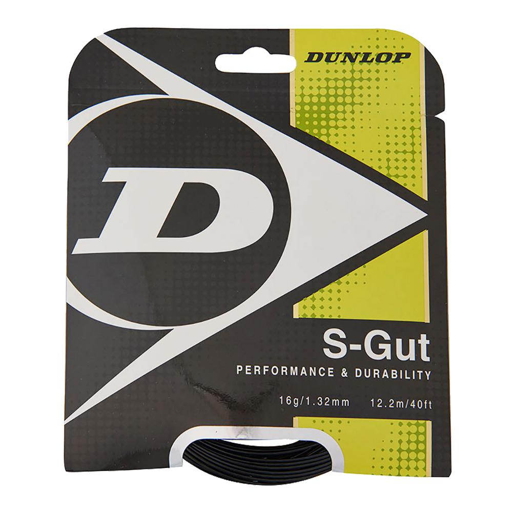 S- Gut 16g Black Tennis String