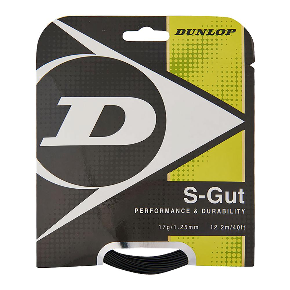 S- Gut 17g Black Tennis String