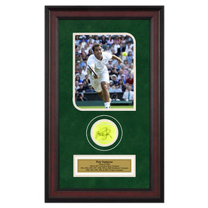 ACE AUTHENTIC PETE SAMPRAS AUTOGRAPHED BALL MEMORABIL
