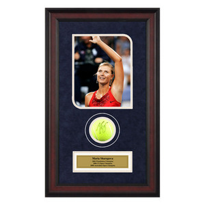 ACE AUTHENTIC MARIA SHARAPOVA AUTOGRAPHED BALL MEMORAB