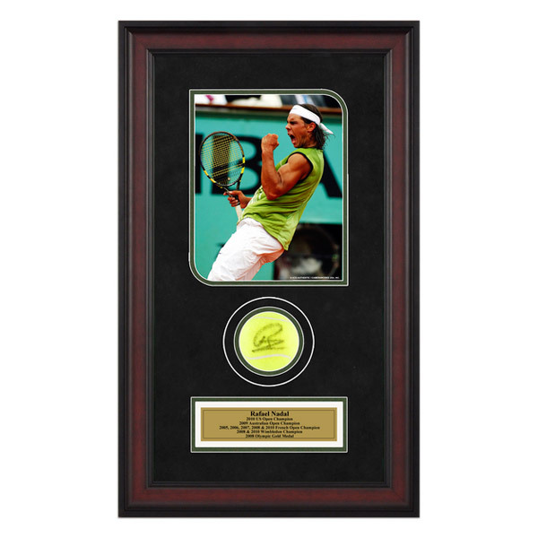 Rafael Nadal Autographed Ball Memorabilia