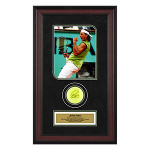 ACE AUTHENTIC RAFAEL NADAL AUTOGRAPHED BALL MEMORABIL