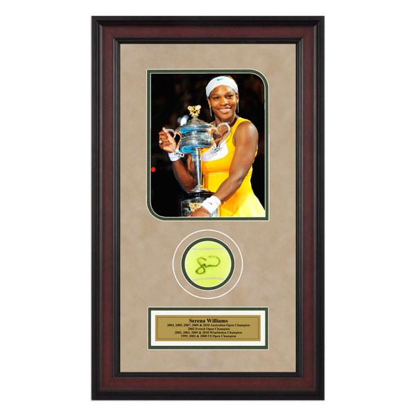 Serena Williams Autographed Ball Memorabilia