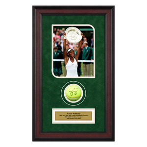 ACE AUTHENTIC VENUS WILLIAMS AUTOGRAPHED BALL MEMORAB