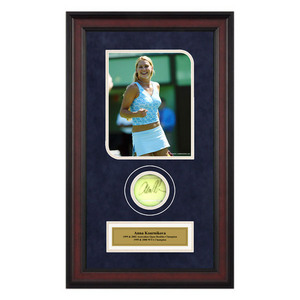 ACE AUTHENTIC ANNA KOURNIKOVA AUTOGRAPHED BALL MEMOR