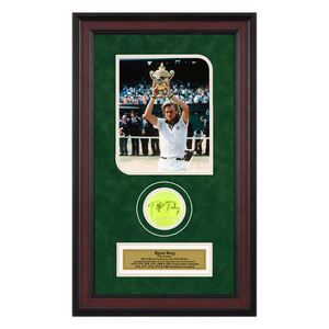 ACE AUTHENTIC BJORN BORG AUTOGRAPHED BALL MEMORABILIA