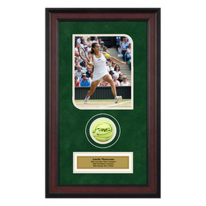 ACE AUTHENTIC AMELIE MAURESMO AUTO BALL MEMORABILIA