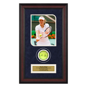 ACE AUTHENTIC MARTINA HINGIS AUTOGRAPHED BALL MEMORAB