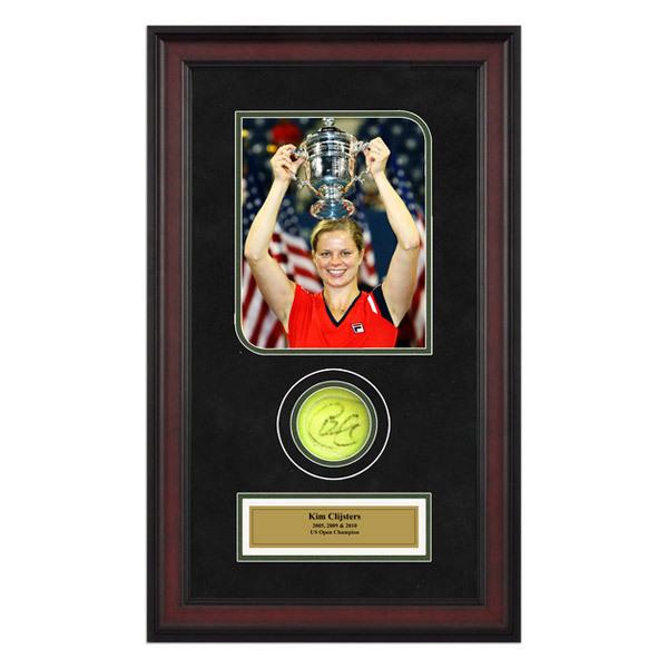 Kim Clijsters Autographed Ball Memorabilia
