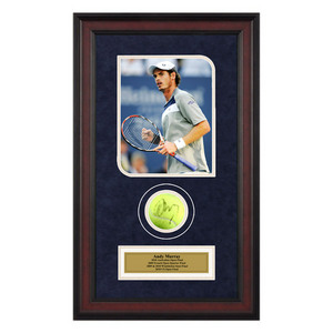 ACE AUTHENTIC ANDY MURRAY AUTOGRAPHED BALL MEMORABILIA
