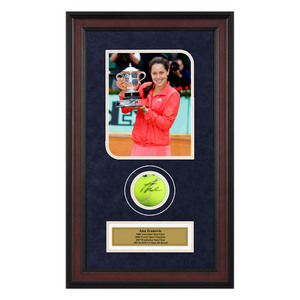 ACE AUTHENTIC ANA IVANOVIC AUTOGRAPHED BALL MEMOR