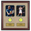 ACE AUTHENTIC Andre Agassi And Pete Sampras Memorabilia