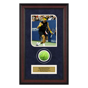 ACE AUTHENTIC JUAN MARTIN DEL POTRO AUTOGRAPHED BALL