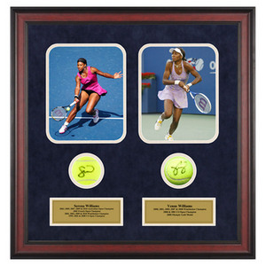 ACE AUTHENTIC SERENA AND VENUS WILLIAMS MEMORABILIA