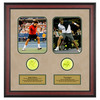 ACE AUTHENTIC Roger Federer And Pete Sampras Memorabilia