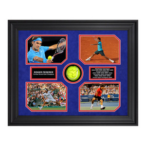 ACE AUTHENTIC ROGER FEDERER GRAND SLAM MEMORABILIA