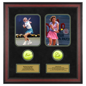 ACE AUTHENTIC MARTINA NAVRATILOVA AND CHRIS EVERT MEM