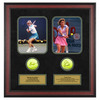 ACE AUTHENTIC Martina Navratilova And Chris Evert Memorabilia