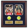ACE AUTHENTIC Justine Henin And Kim Clijsters Memorabilia