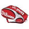 WILSON Tour Red/White 9 Pack Tennis Bag