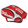 WILSON Tour Red/White 15 Pack Tennis Bag