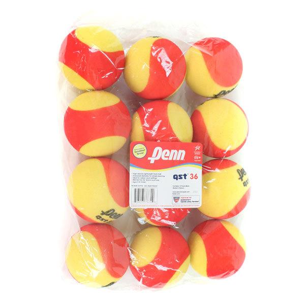 Qst 36 Foam Tennis Balls 12 Pack