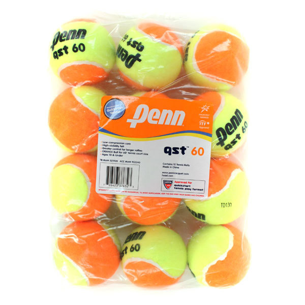 Qst 60 Low Compression 12 Tennis Ball Pack