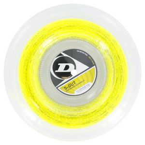 S-Gut 16G Yellow Tennis String Reel