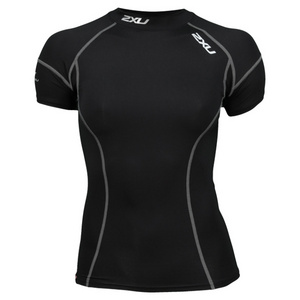 2XU WOMENS ELITE SHORT SLEEVE COMPRESSN TOP