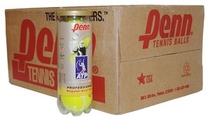 PENN ATP REGULAR DUTY TENNIS BALLS CASE