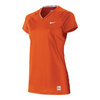 NIKE Women`s Pro Fitted Short Sleeve V Neck