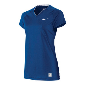 Women`s Pro Fitted Short Sleeve V Neck