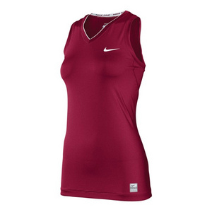 NIKE WOMENS PRO CORE TIGHT SLEEVELESS V NECK