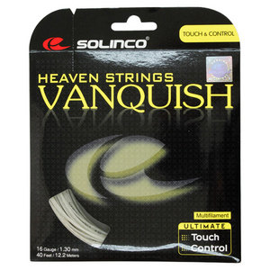 SOLINCO VANQUISH MULTIFILAMENT 16G TENNIS STRING