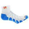 VITALSOX Running Ped Light Weight White/Royal Blue Socks