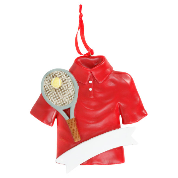 Tennis Shirt Tree Ornament (Only 8 Left!)