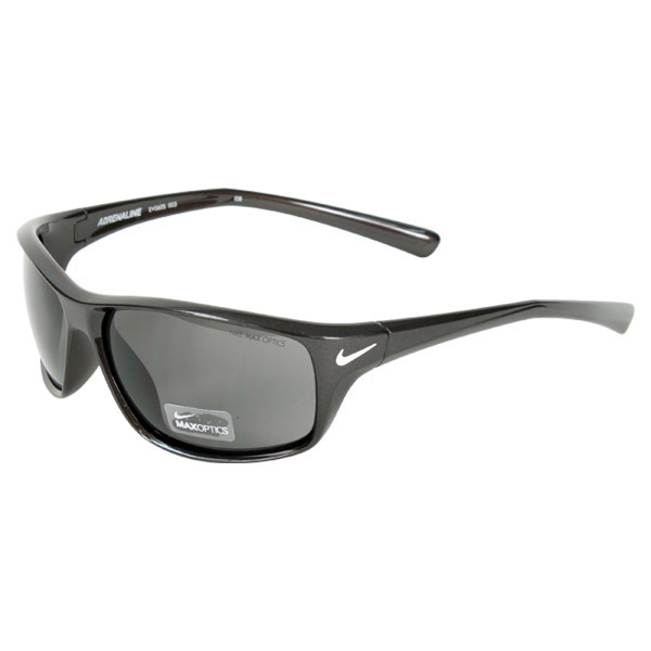 Adrenaline Stealth/Grey Lens Sunglasses